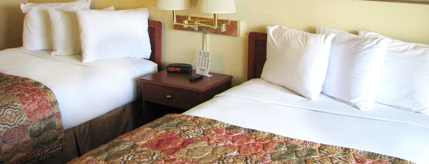 We offer comfortable rooms